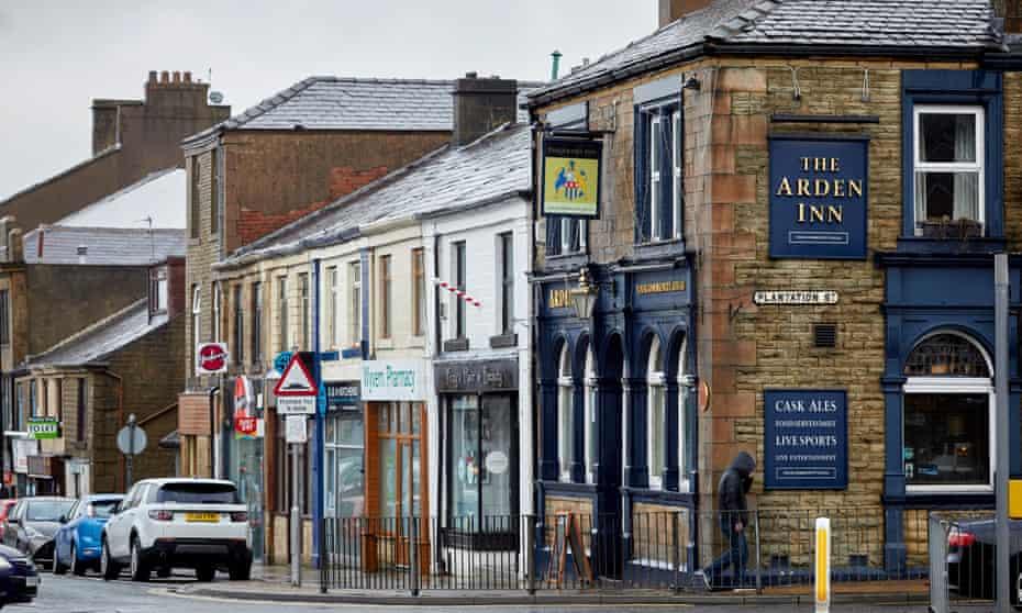 The Arden Inn in Accrington town centre.