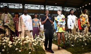 Virgil Abloh, Gigi Hadid and Off-White men's spring/summer collection 202o