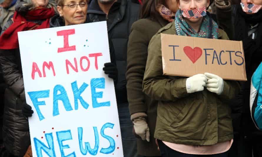 March for a Free Press outside New York Times building, New York, USA - 26 Feb 2017 Mandatory Credit: Photo by G. Ronald Lopez/ZUMA Wire/REX/Shutterstock (8436312h) Hundreds of activists stood in silence outside the New York Times' headquarters on West 41st Street in midtown Manhattan Sunday in a show of solidarity with the press, for the second time in two days. March for a Free Press outside New York Times building, New York, USA - 26 Feb 2017