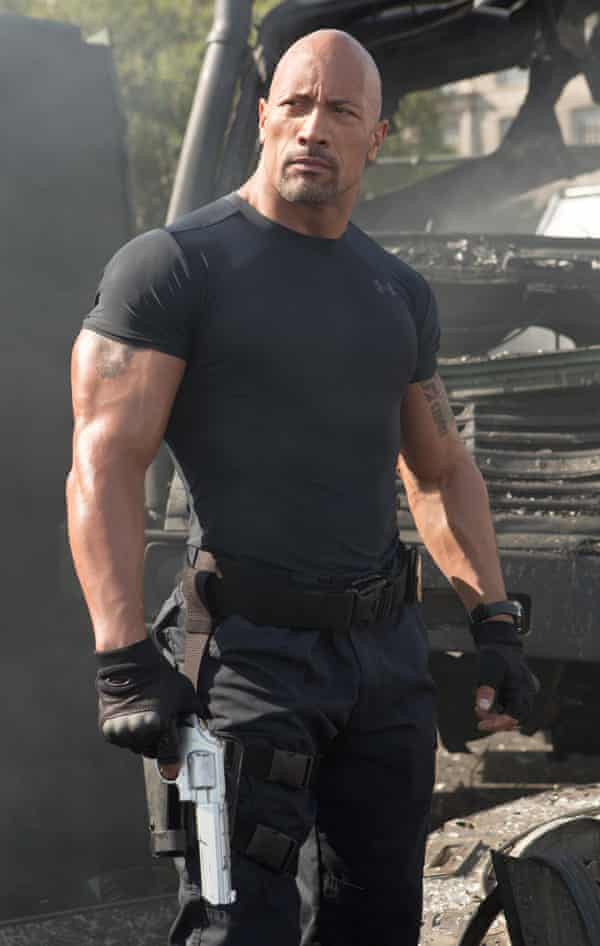 Dwayne 'the Rock' Johnson in Fast & Furious 6.