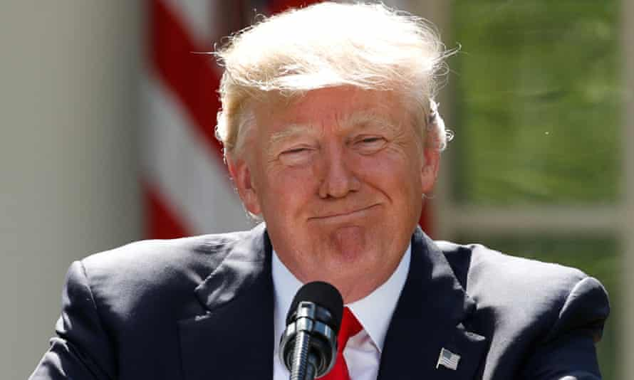 Donald Trump announced his decision in June 2017 to withdraw from the Paris climate agreement.