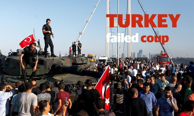 Turkey coup: how defiant Turks chased soldiers from