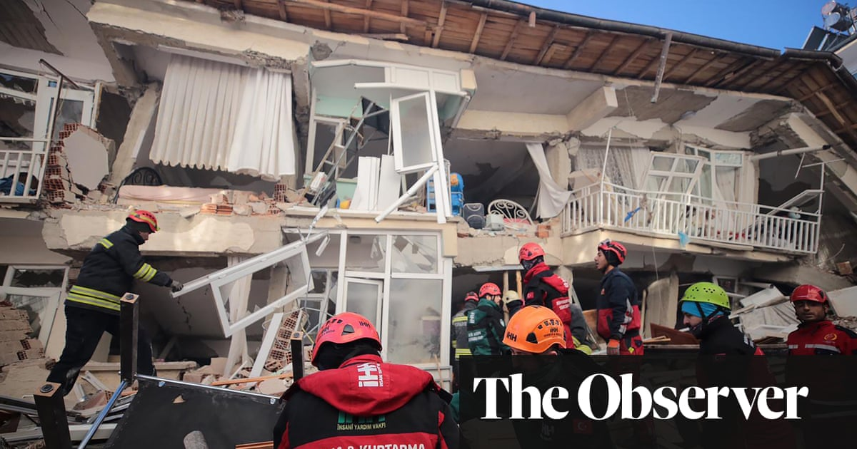 Turkey earthquake: death toll rises as search for survivors continues | The Guar