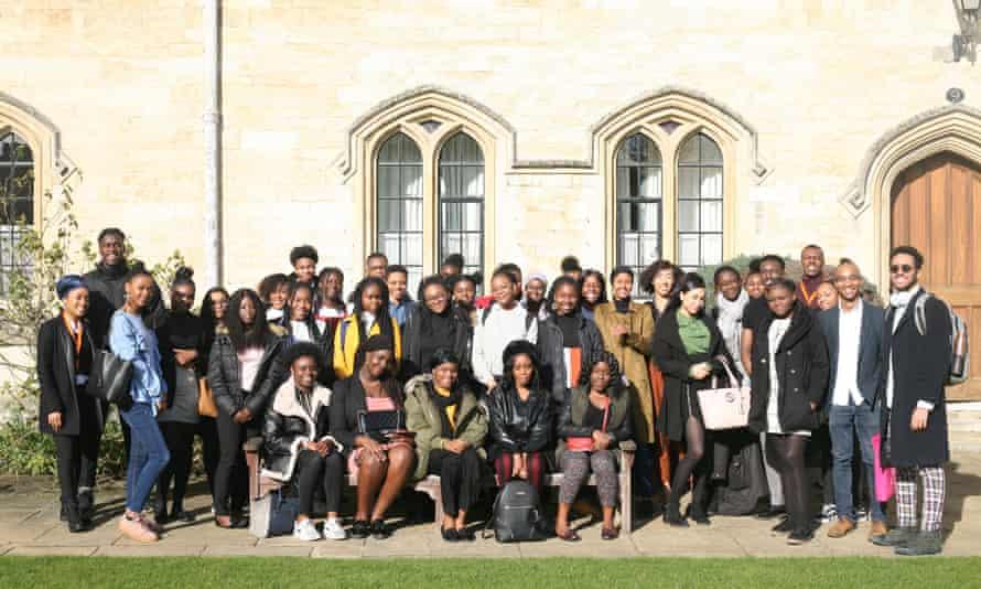 Thinking Black celebration day at Pembroke College, Oxford.