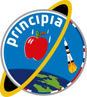 The Principia mission logo, designed by 13-year-old Troy Wood.