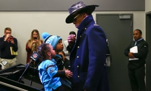 Cam Newton brought his children along as assistants at Sunday's post game press conferenc