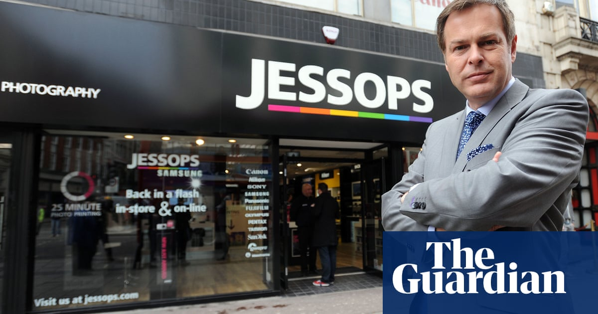 Camera retailer Jessops calls in administrators for a second time