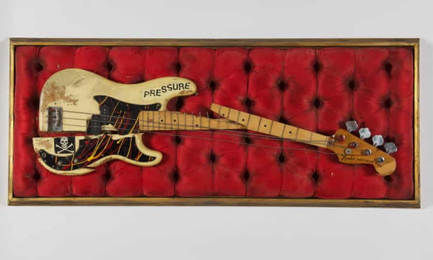 Paul Simonon's Fender Precision bass will go on display at the Museum of London from 23 July.