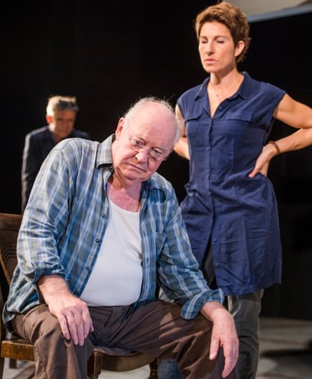 David Calder with Greig in The Intelligent Homosexual's Guide … at Hampstead theatre.