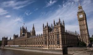 Exterior shot of Houses of Parliament
