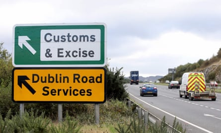 An old customs and excise area on the Dublin road in Newry, Northern Ireland.