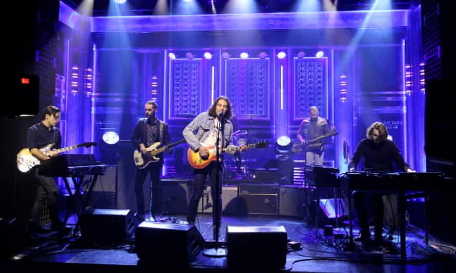The War on Drugs perform in 2015.