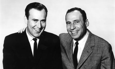 Carl Reiner, left, with Mel Brooks in the 1960s.