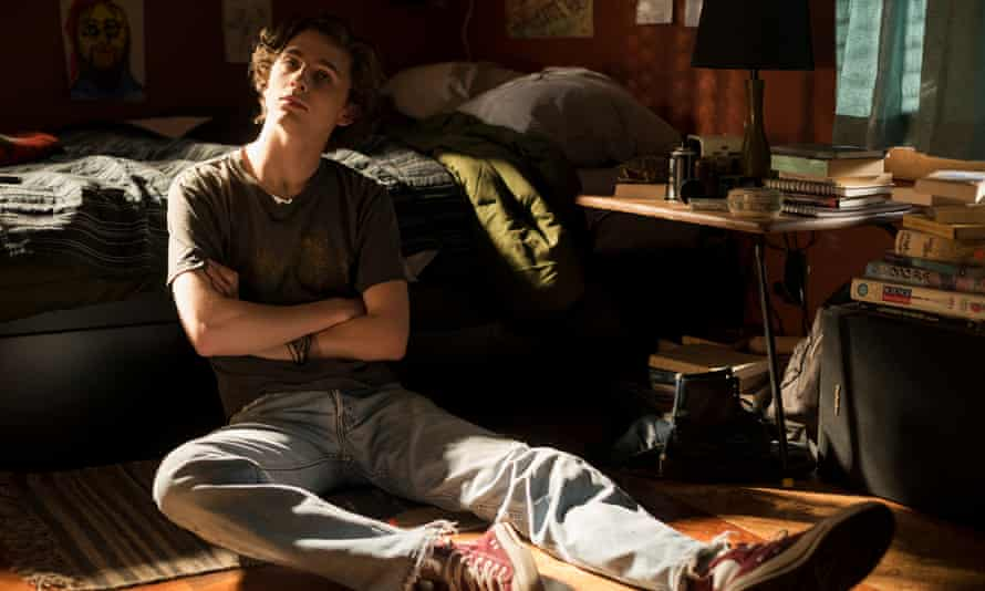 Timothée Chalamet in the drug-addiction drama Beautiful Boy.
