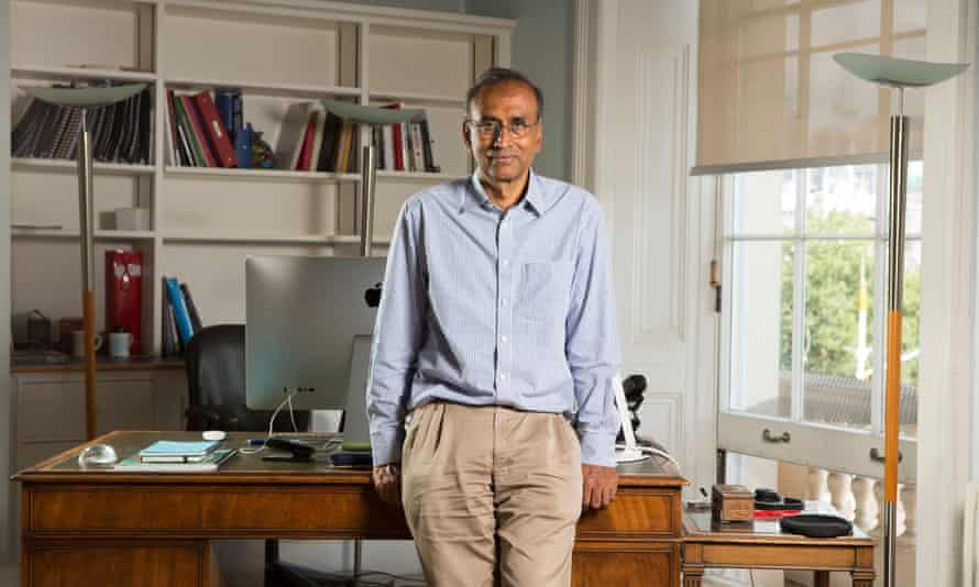 Prof Venki Ramakrishnan, president of the Royal Society