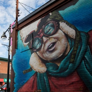 A mural is seen in The Glebe, in Ottawa, Canada, October 5, 2018. (Cole Burston)