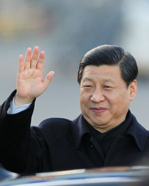 Chinese Vice President Xi Jinping visits Shannon in 2012.