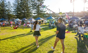 The Kiama Farmer's. Market held every Wednesday at Surf Beach, located on Manning Street.
