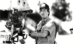 Rod Daniel on the set of Like Father Like Son.