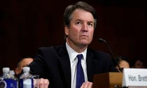 Brett Kavanaugh testifies before the Senate judiciary committee in September.