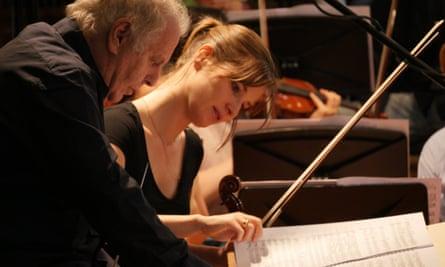 Daniel Barenboim and Lisa Batiashvili