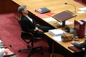 Labor leader in the Senate, Penny Wong