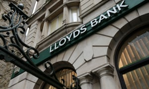 lloyds bank sign outside a branch