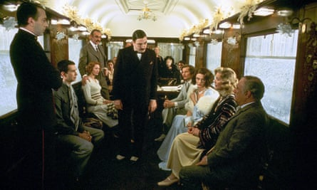 Agatha Christie's plots work perfectly on film: Sidney Lumet's Murder on the Orient Express (1974).