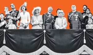 A composite image of the royal family