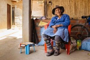 Carmelo's 94-year-old grandmother Severina Madonado