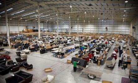 Belfield furniture factory.