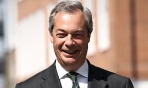 Nigel Farage began agitating for Brexit years ago.