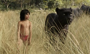 Neel Sethi as Mowgli in the new version of The Jungle Book.