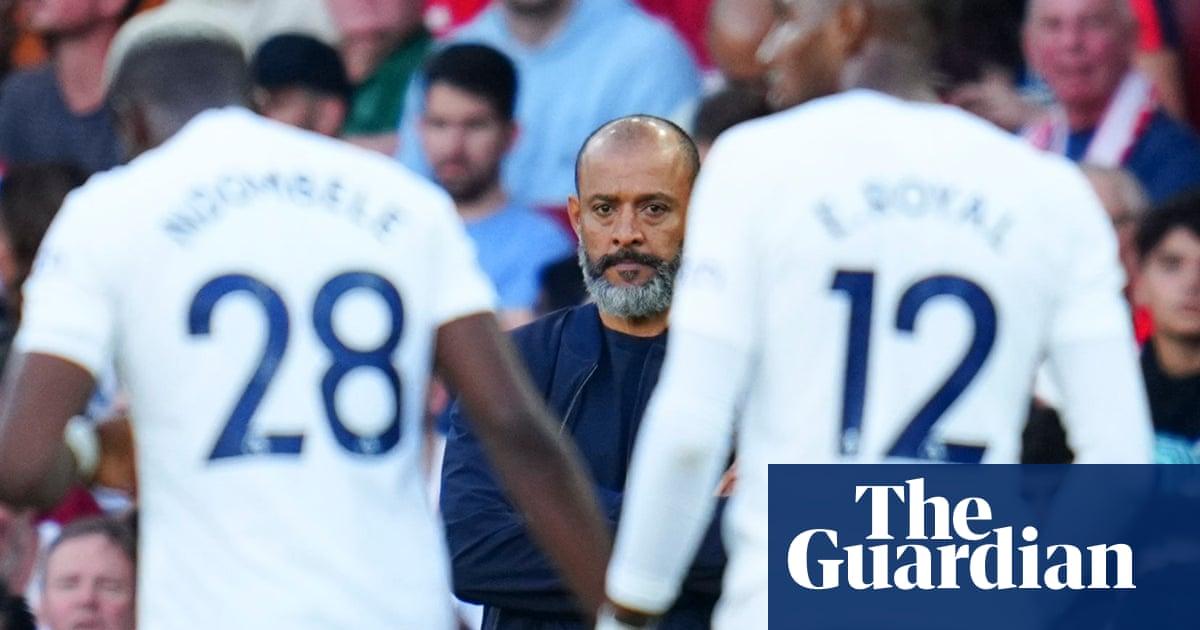 Tottenham have no clear identity under Nuno Espírito Santo
