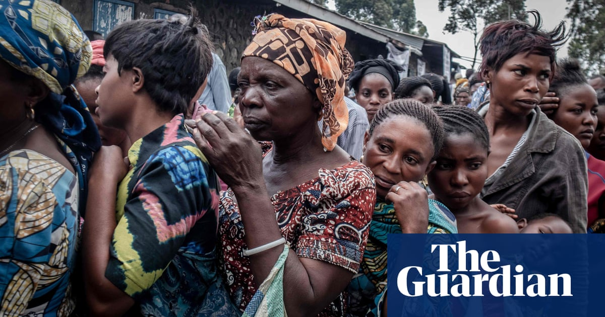DRC volcano: thousands flee amid fears of further eruptions – video
