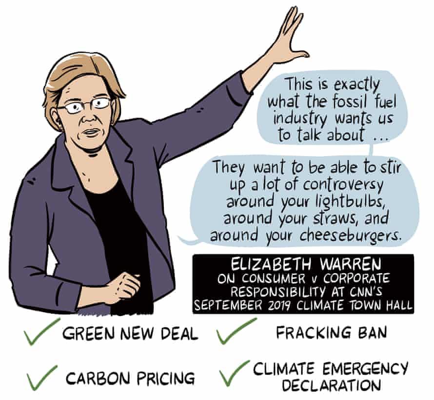 Elizabeth Warren on California and climate
