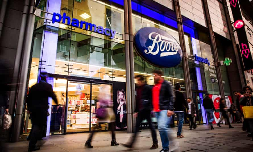 Boots' flagship store on Oxford Street, London.