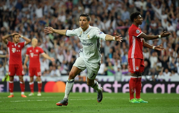 Image result for Real madrid vs bayern munich 4-2