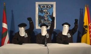 Three members of ETA