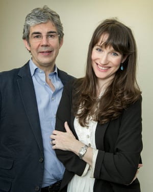 David Nott with his wife Elly.