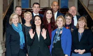 Independent Group (Change UK) MPs at launch.