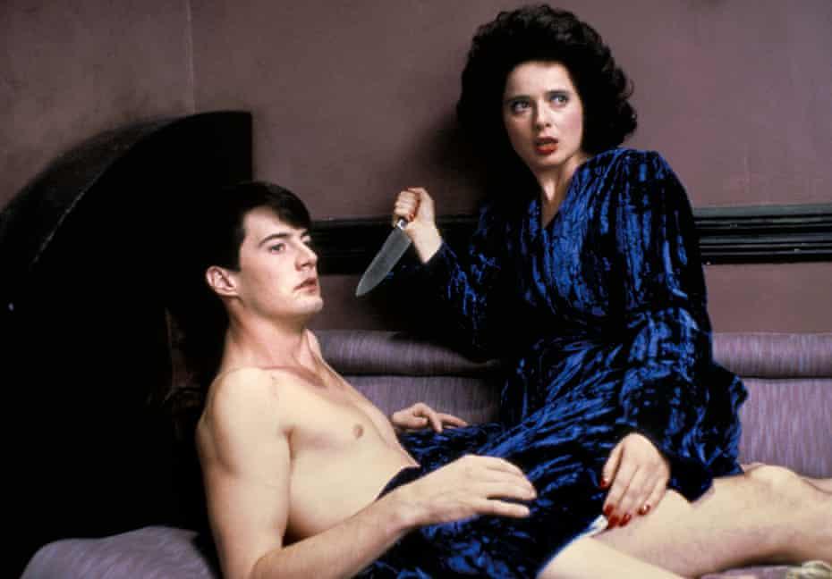 Blue Velvet (1986), starring Kyle MacLachlan and Isabella Rossellini
