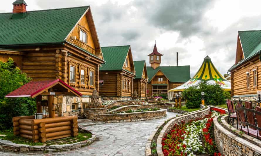 Tatar village in the city Kazan