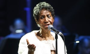 Aretha Franklin performing in November 2017.