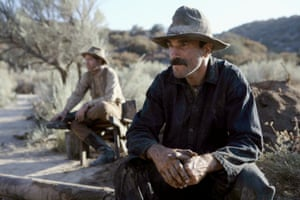 One of his most charismatic performances … Daniel Day-Lewis as Daniel Plainview in There Will Be Blood (2007).