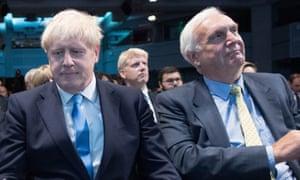 Boris Johnson and Edward Lister