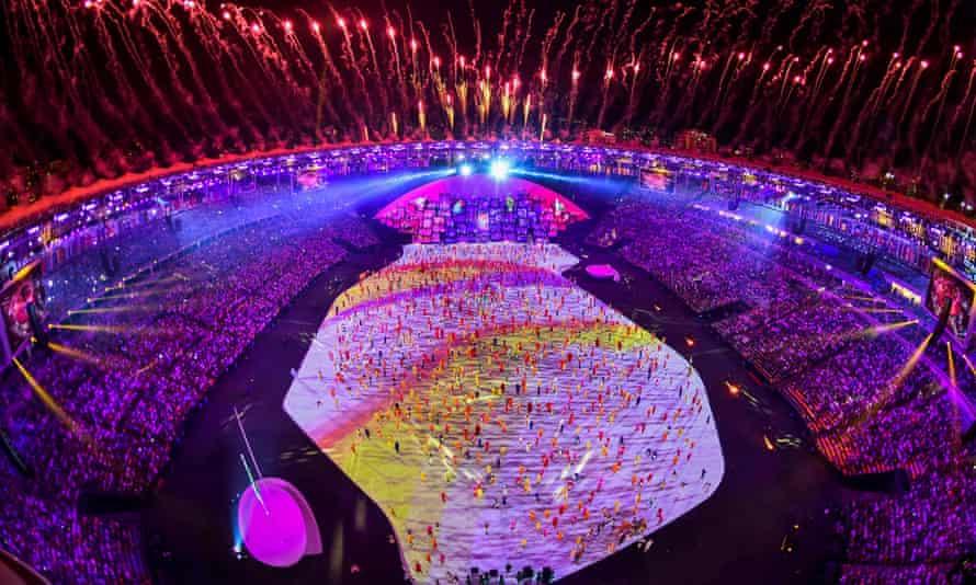 Rio Olympic opening ceremony