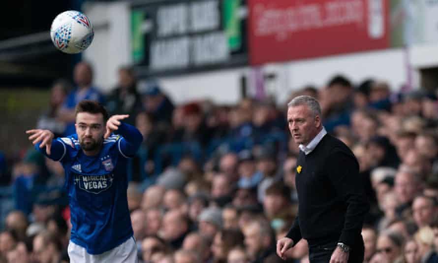 Ipswich Town manager Paul Lambert.
