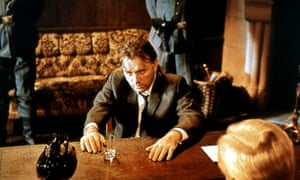Richard Burton playing Alec Leamas in The Spy Who Came in from the Cold.