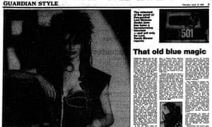 The Guardian, 10 April 1986.